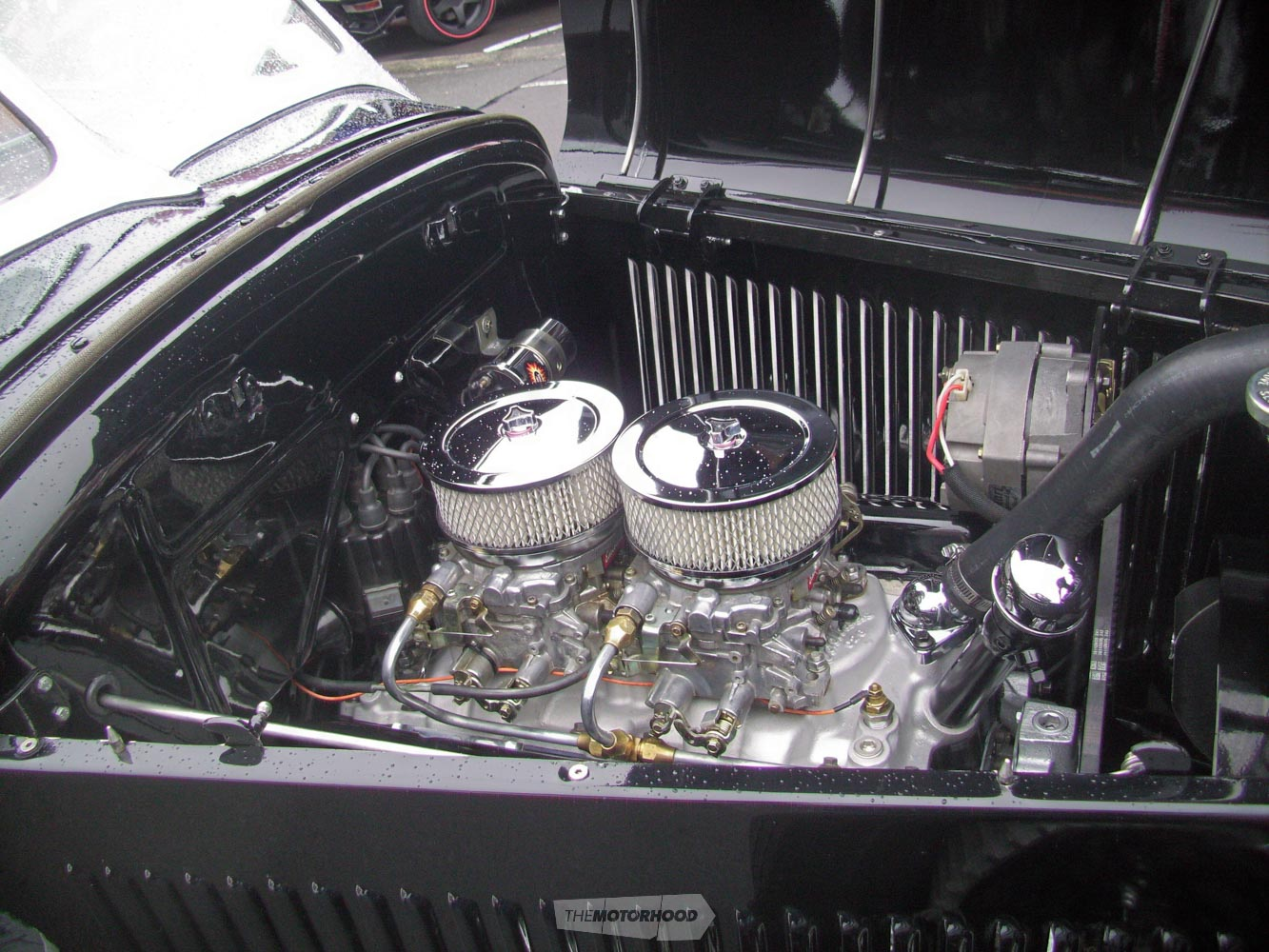 Didnt have any infor on the motor at all but like everything else it was immaculate.jpg