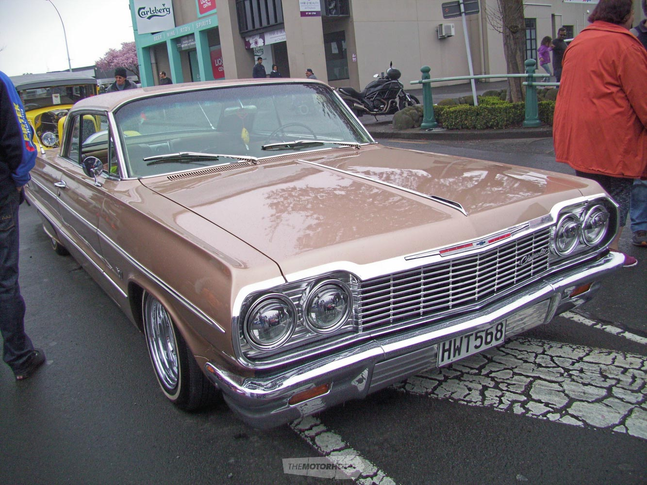 Teia Tuuta from Rotorua owns this 1964 Chev Impala Coupe which was beautifully presented.jpg