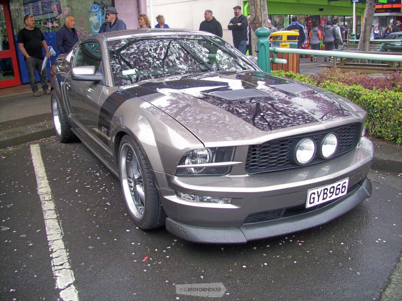 Tom and Karen Palmer from Bay Rodders own this hunky  2005 GT Mustang.jpg