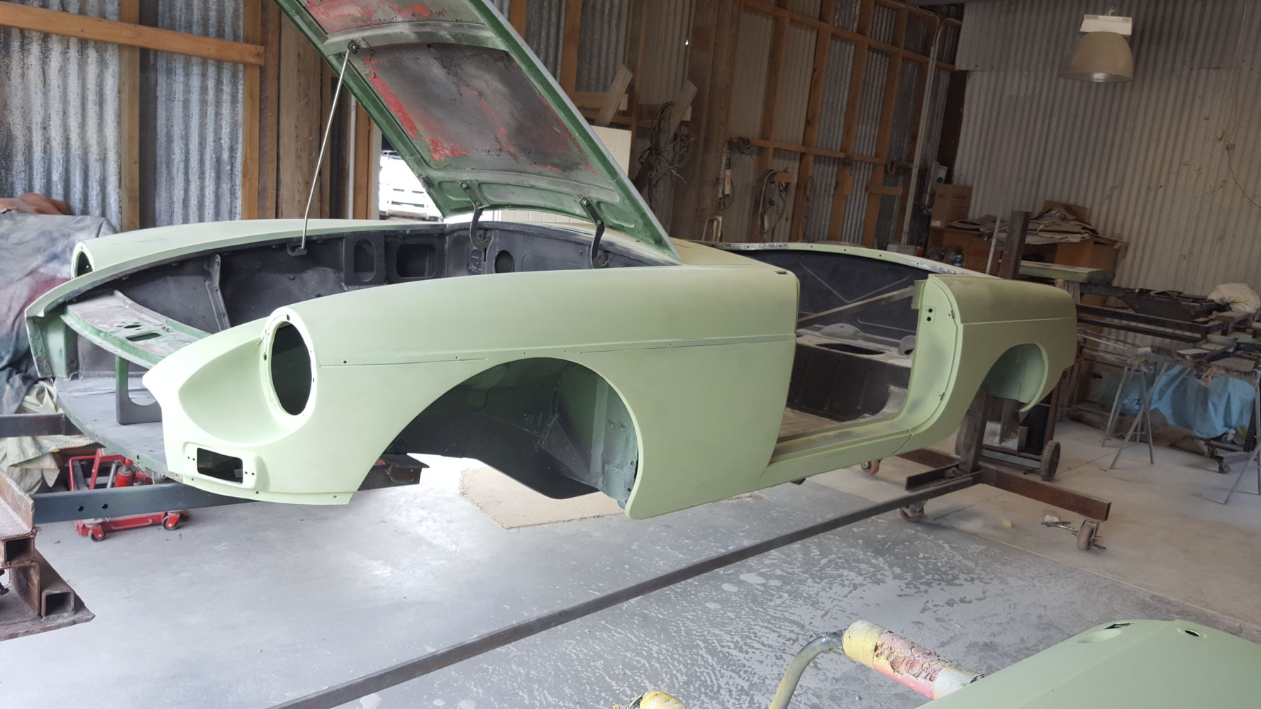 1967 MG total restoration.jpg
