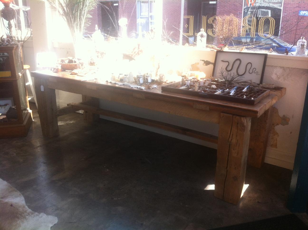 Blacksmith Dining Table - $4,750