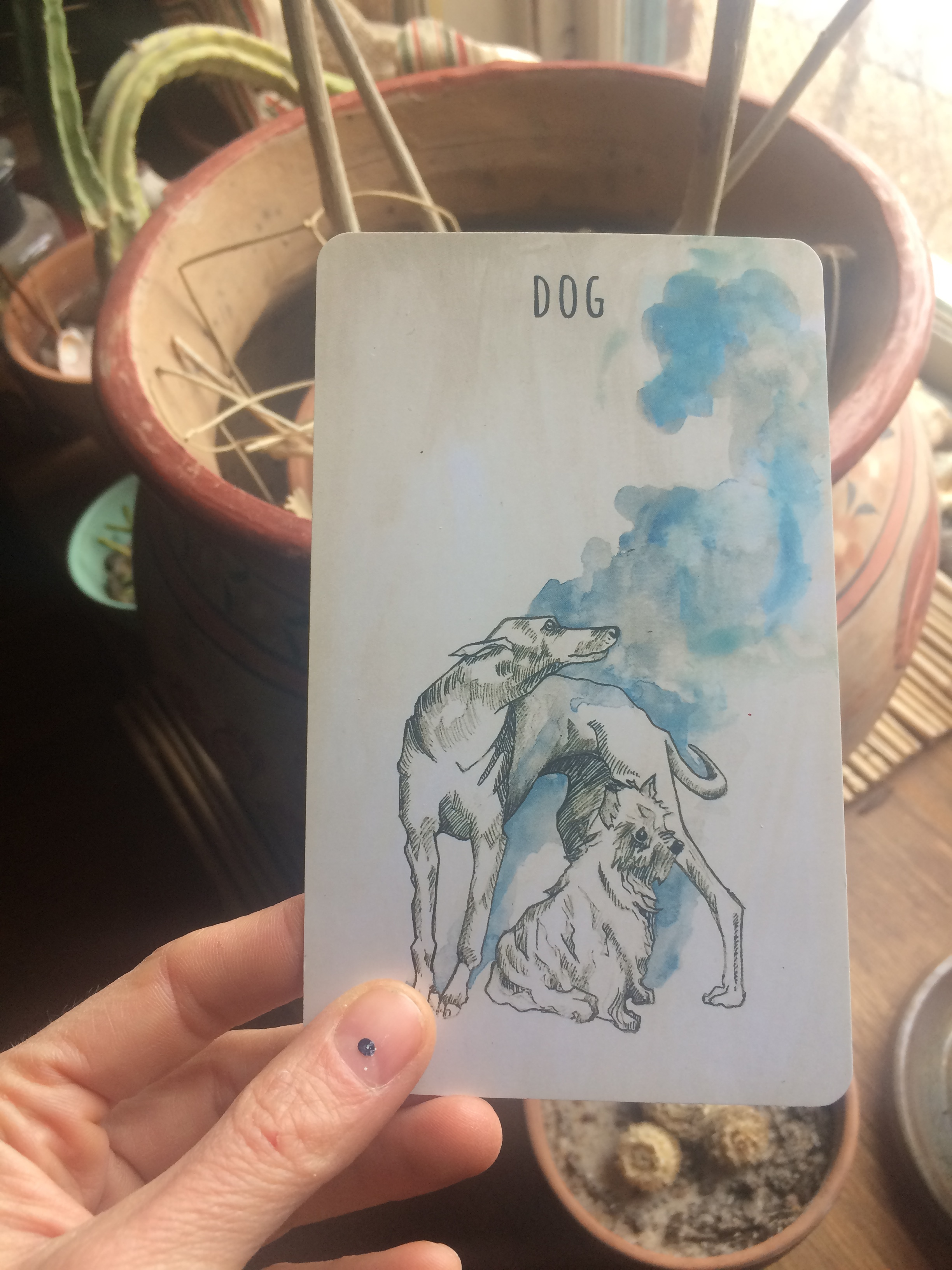 The Scrying Ink, Dog. WE HAVE DOGES.