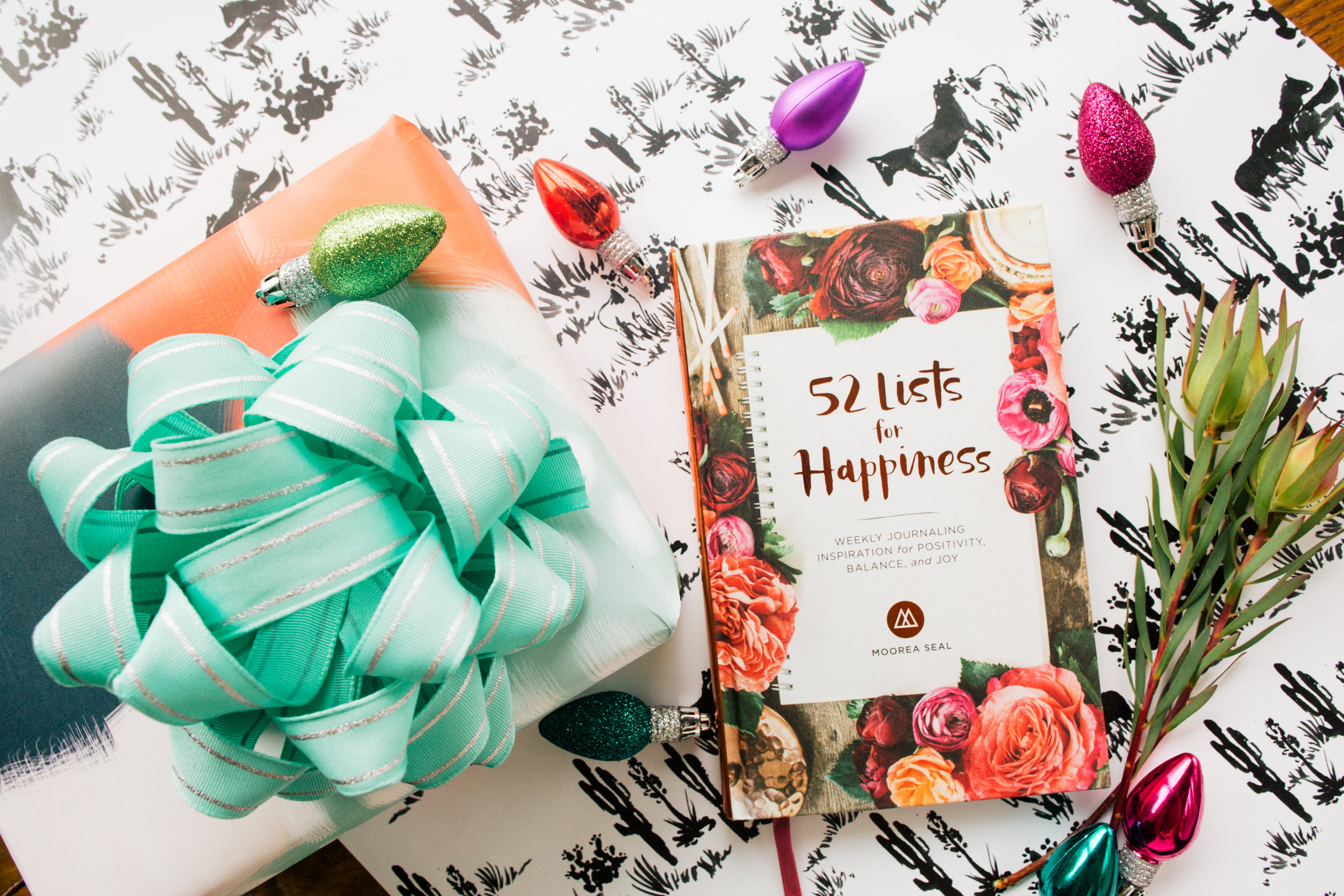 52 Lists for Happiness by Moorea Seal!