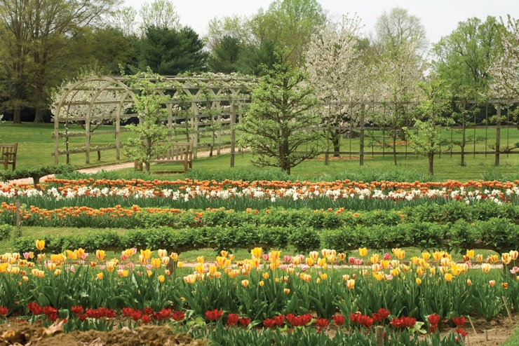 Delaware du Pont Family Gardens - View Itinerary