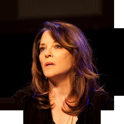 Marianne Williamson,         Spiritual leader and Politician