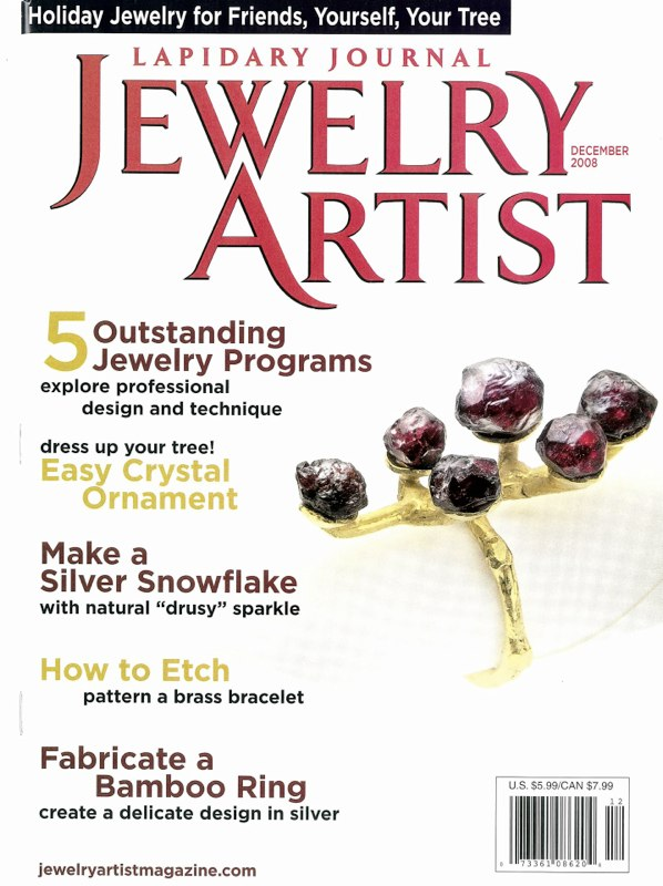 Jewelry Artist Cover