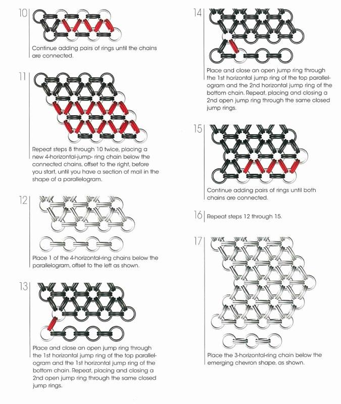 Fabricate a Japanese Hexagonal Mail Collar