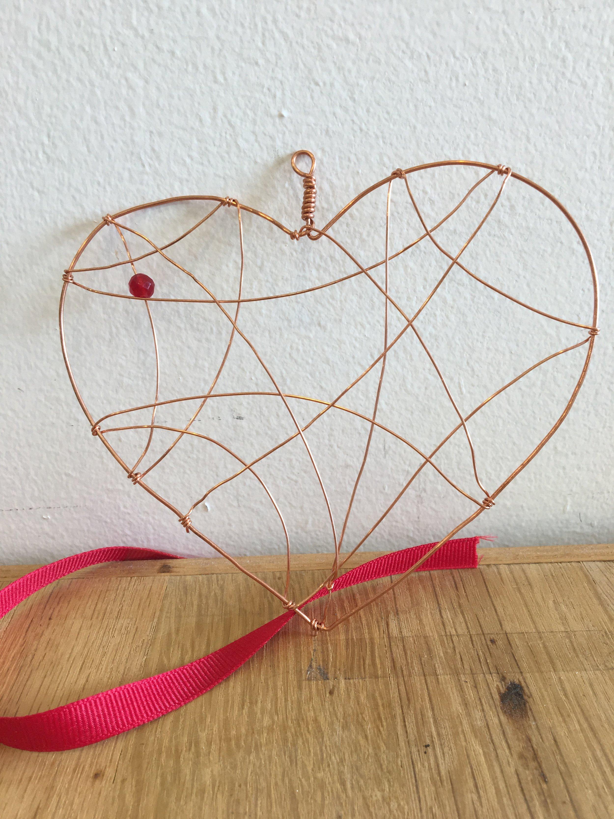 Heart Wire Ornament