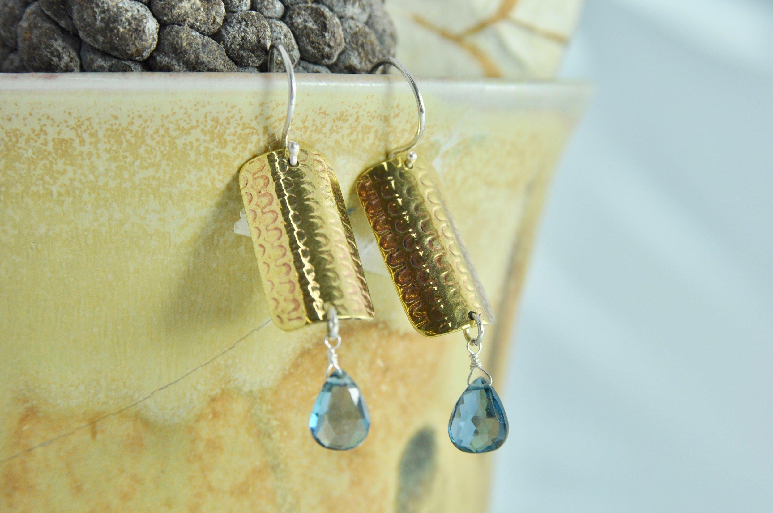 Rill Printed Earrings