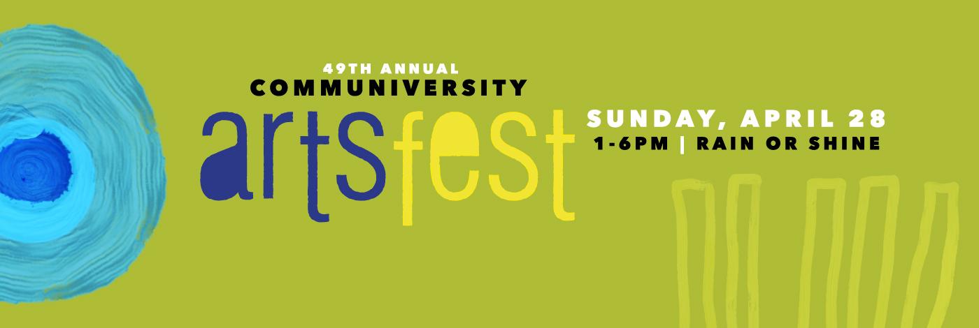ArtsFest Sunday April 28, 2019