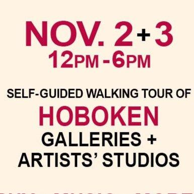 Hoboken Art + Studio Tour Nov 2 - 3, 2019