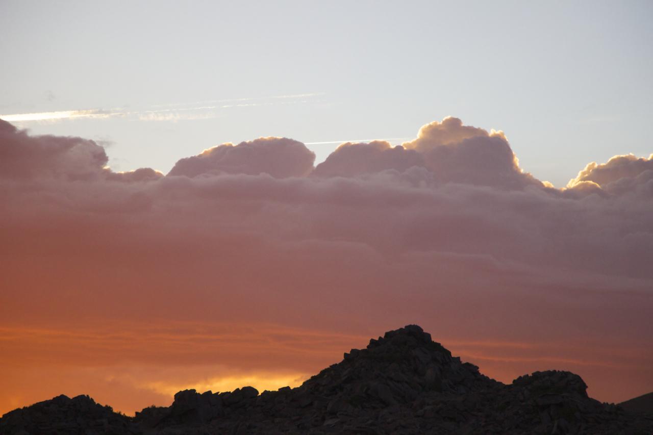 """White Mountain Cumulus"""
