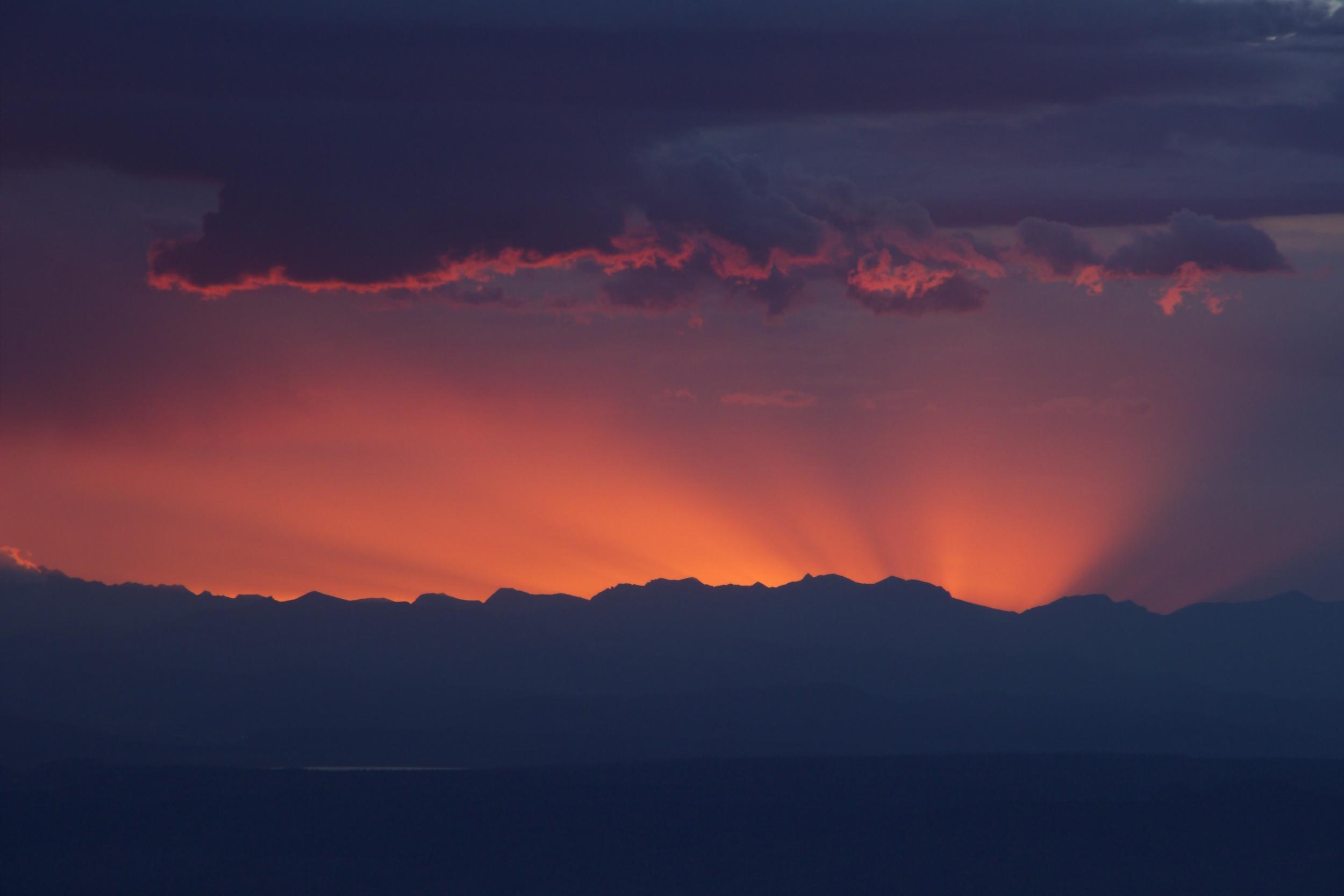 """""""White Mountain Sun Rays"""""""