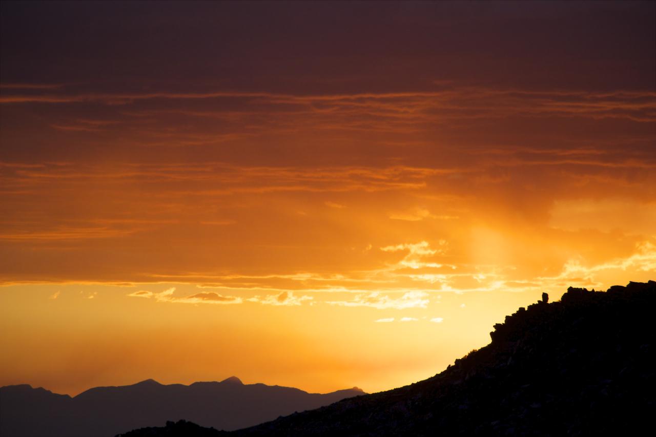 """""""White Mountain Sunset"""""""