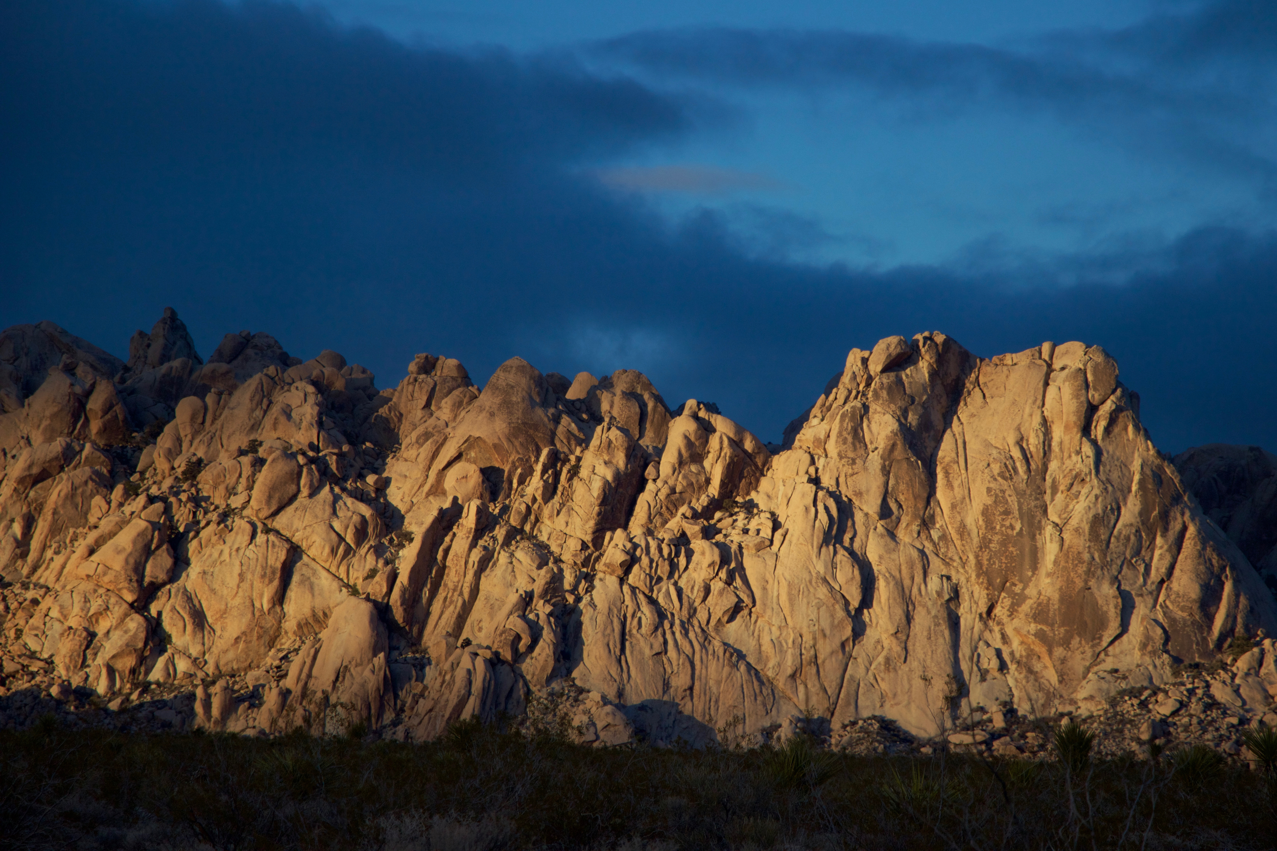 """Granite Mountains Sunset #1"""