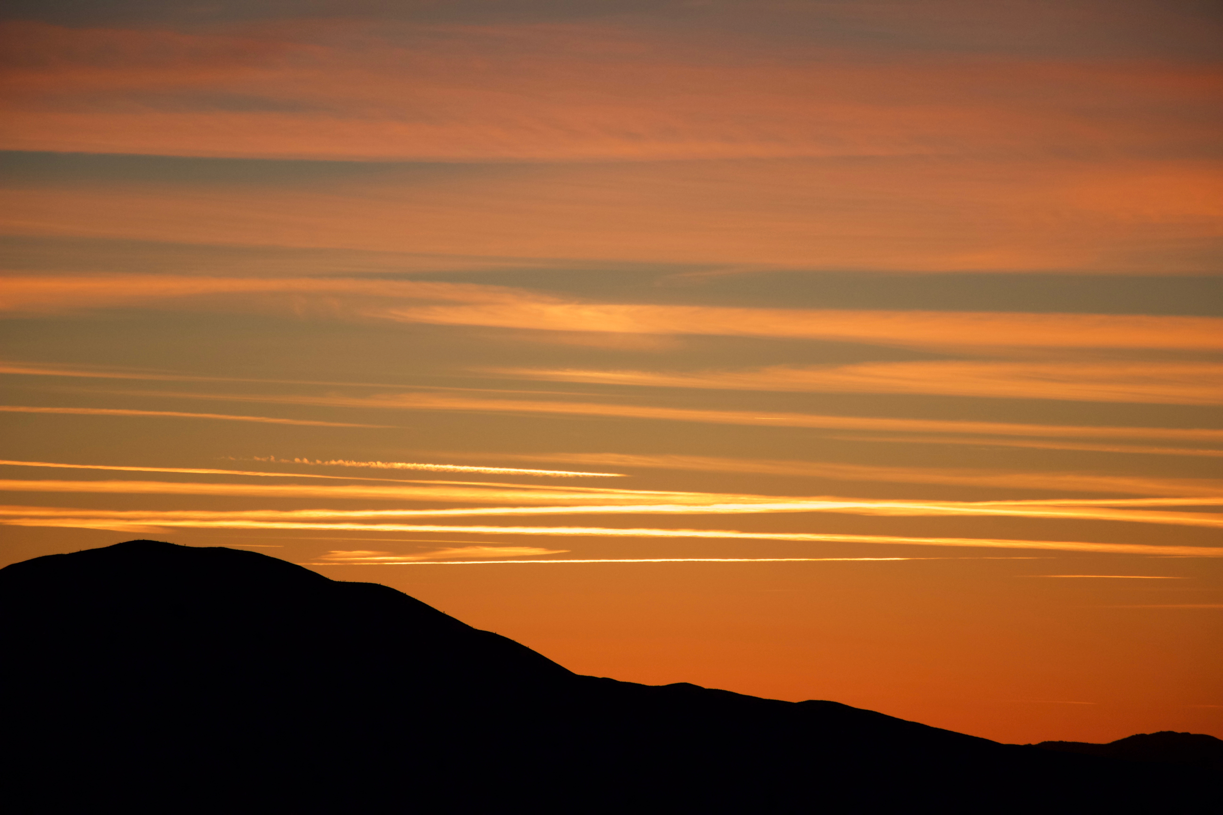 """Brown Mountain Sunset"""