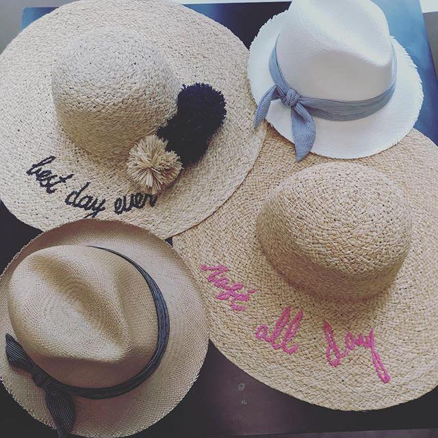 Sometimes a hat says it all #roseallday #bestdayever #beachlife #poolside #mimiandmonyc #hatattack #longislandcity #newarrivals
