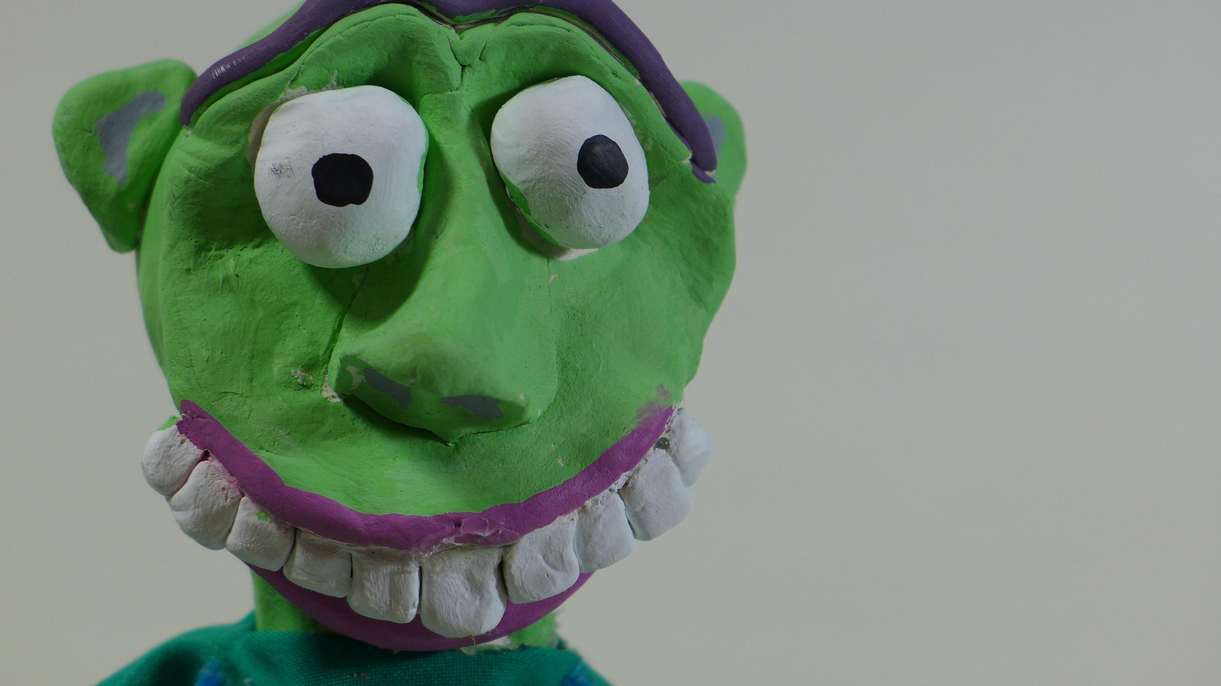 Flossy (glove puppet)