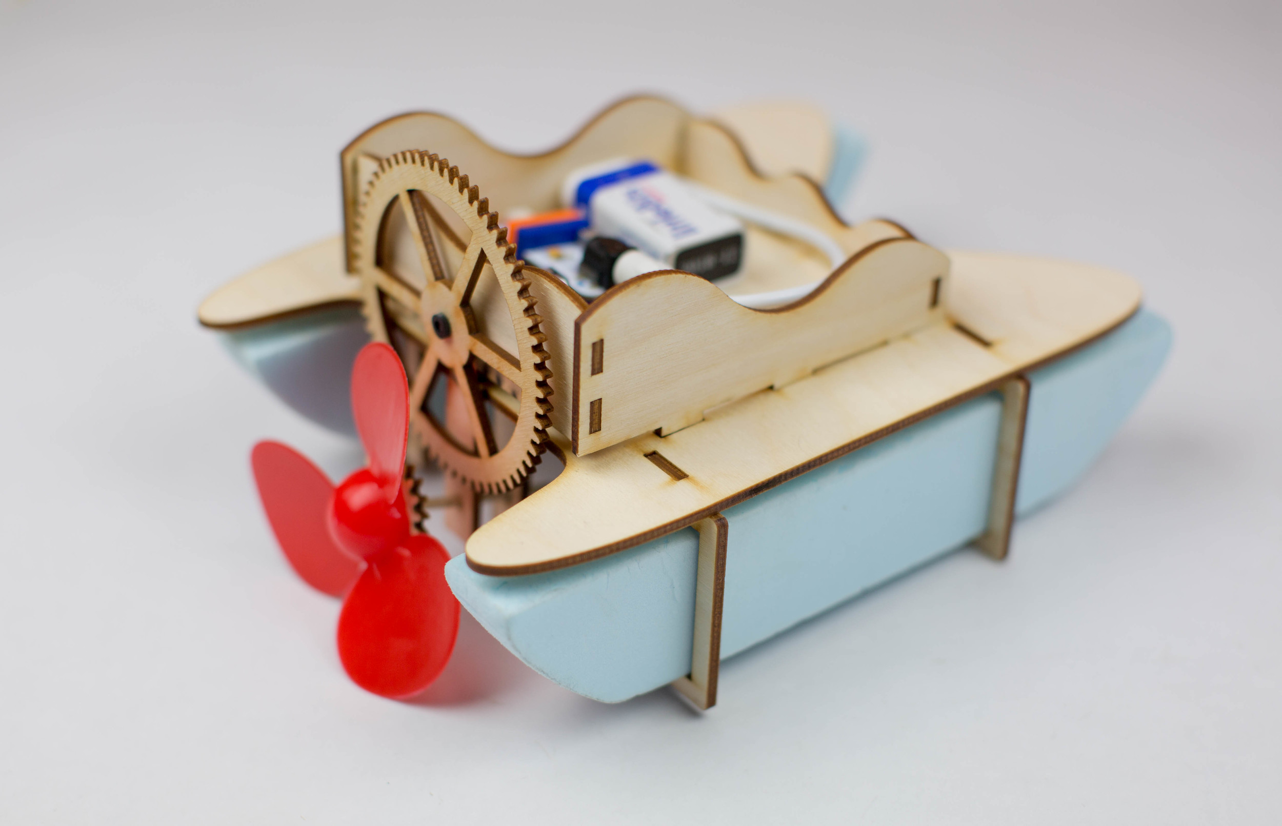 Boat with LittleBits