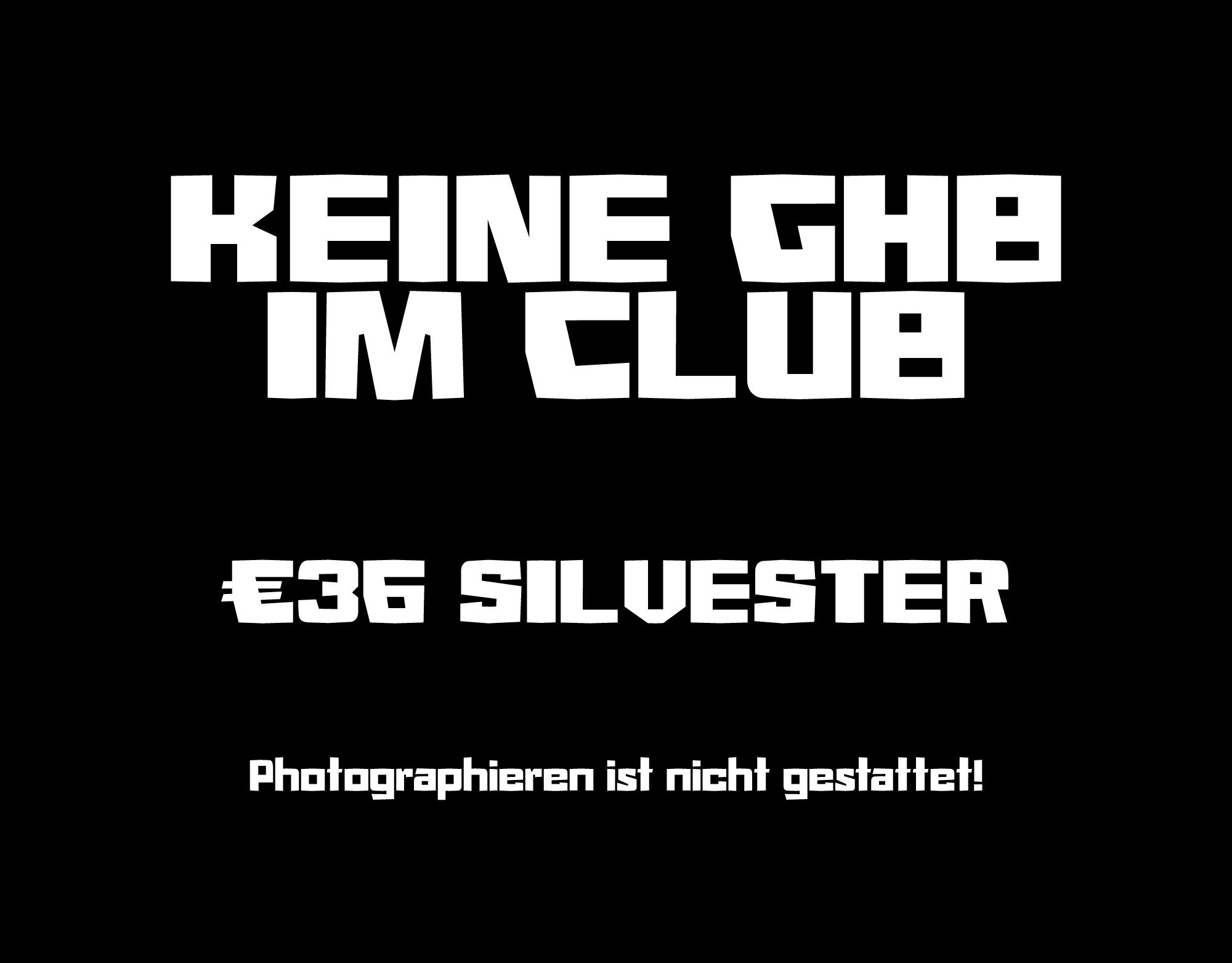 Font based on the Berghain logo. 🙄