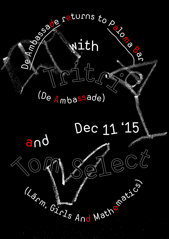 De Ambassade at Paloma Bar: 11 December