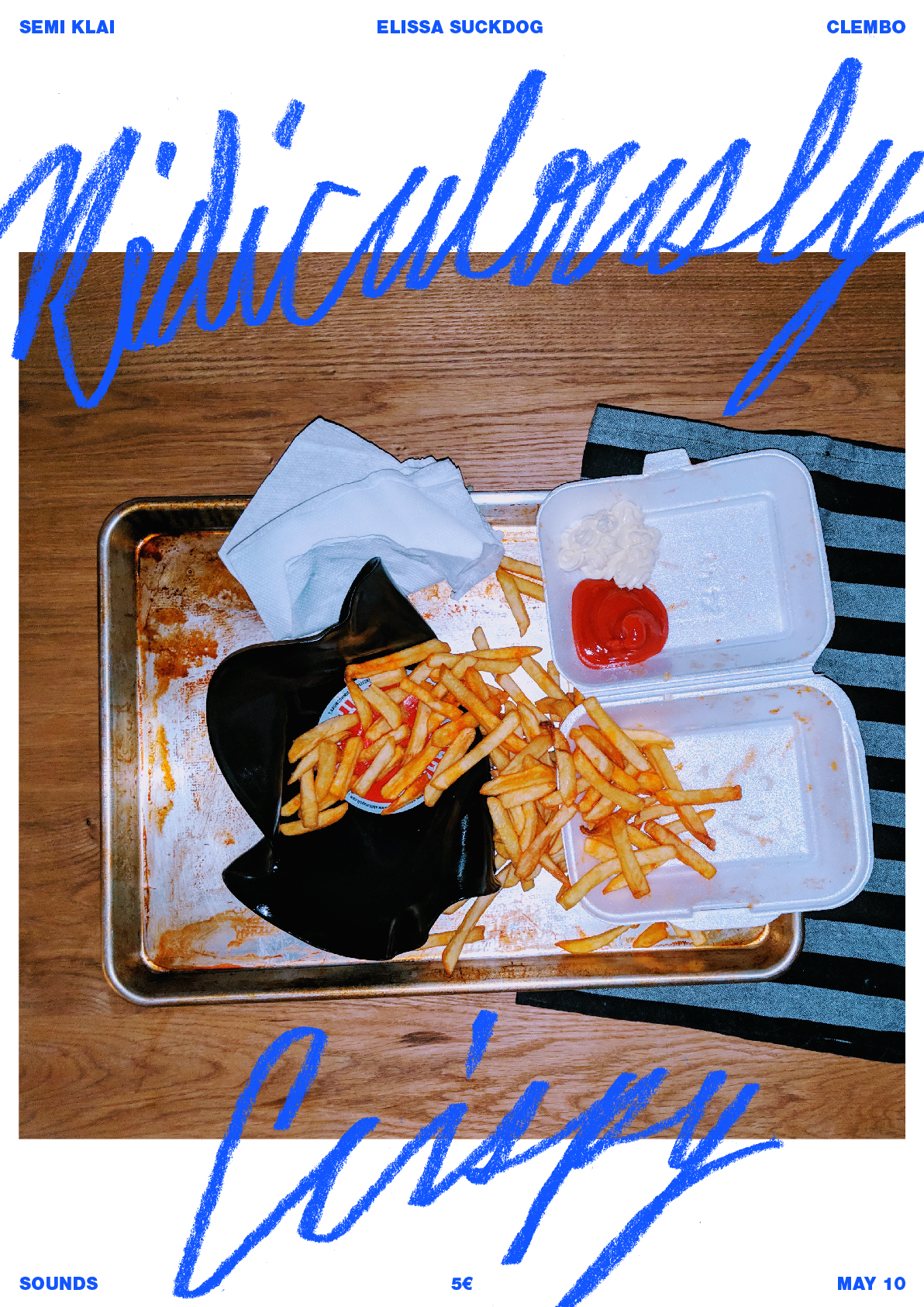 Ridiculously Crispy: A party series by Semi Klai featuring a real fried record.
