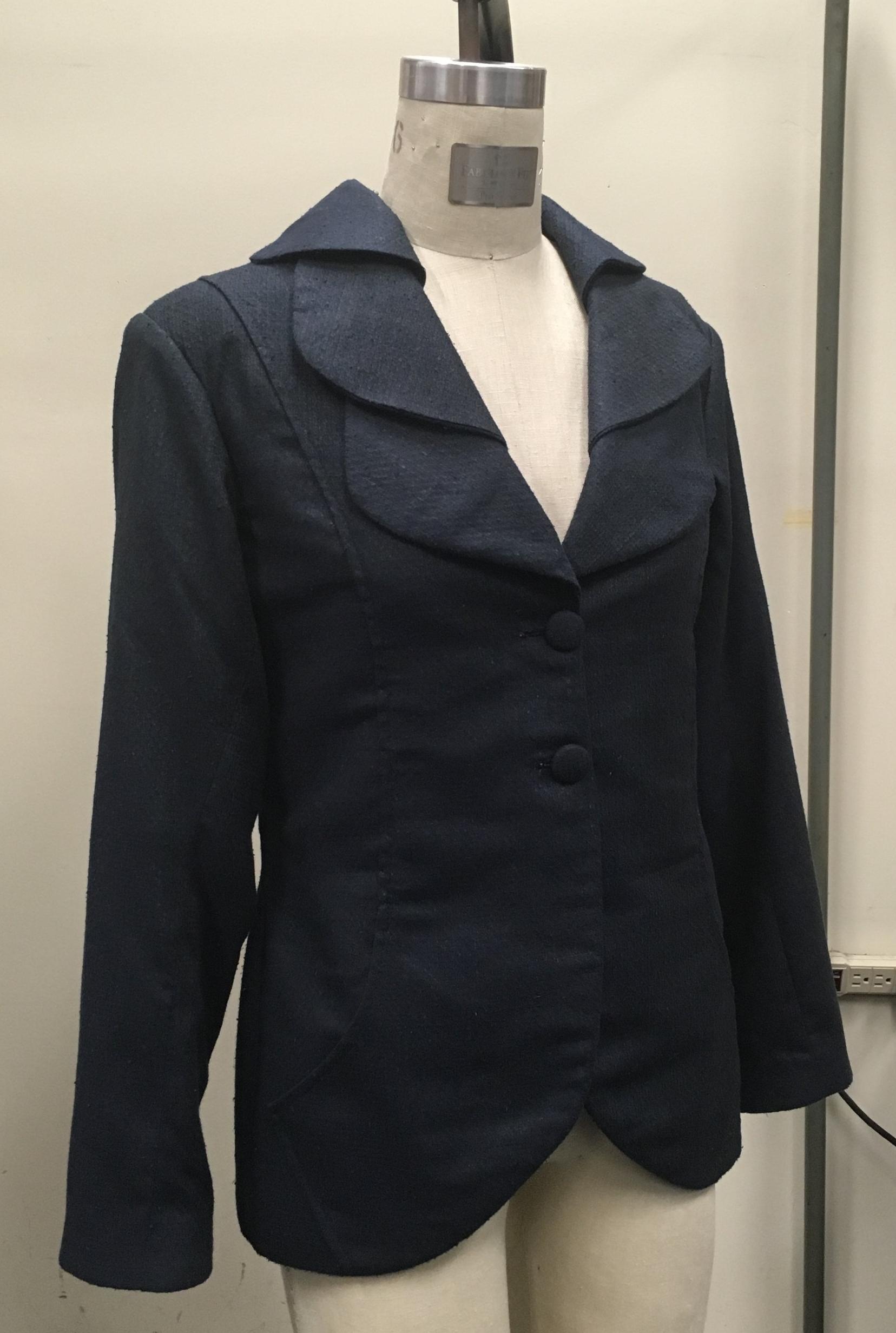 Jacket in progress.