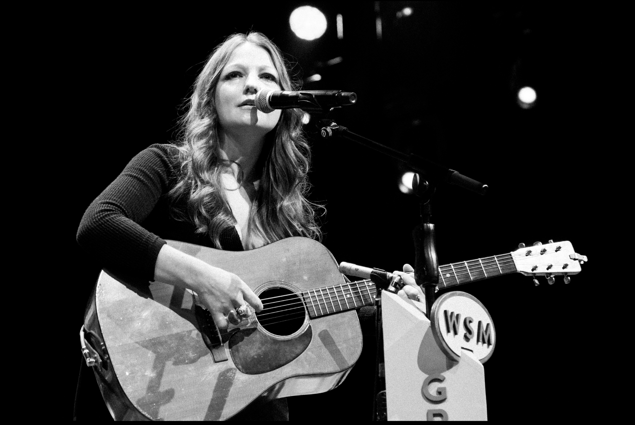 Kelsey Waldon playing at the Grand Ole Opry