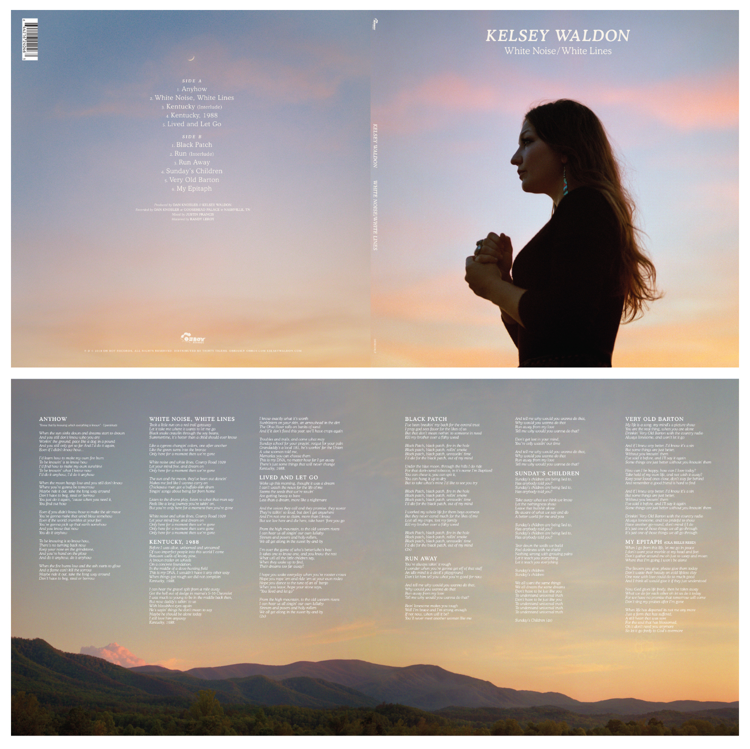 "Kelsey Waldon, ""White Noise/White Lines"" Album 