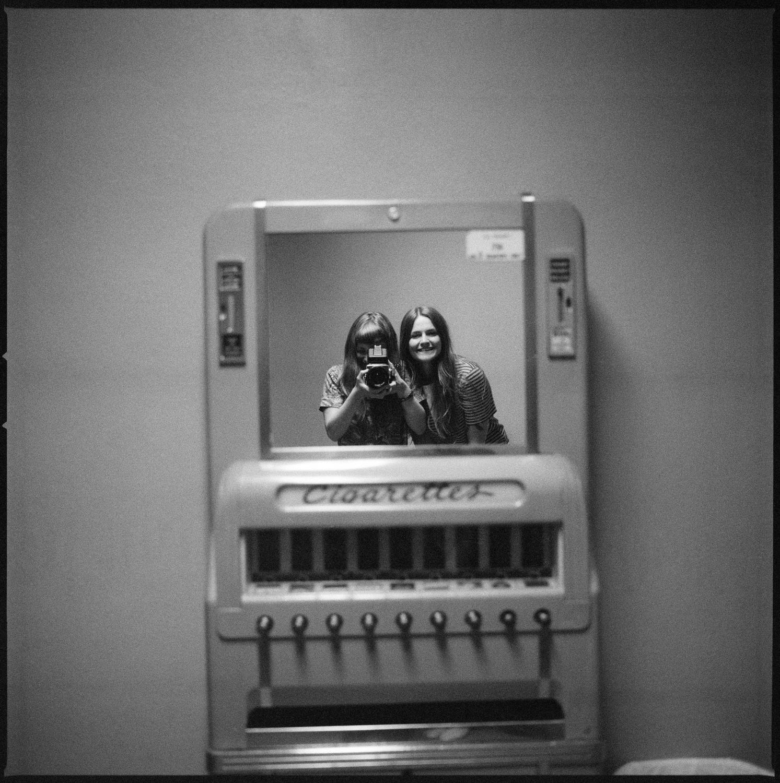 Portrait of Erin and I, Sam Phillips Recording in Memphis, TN