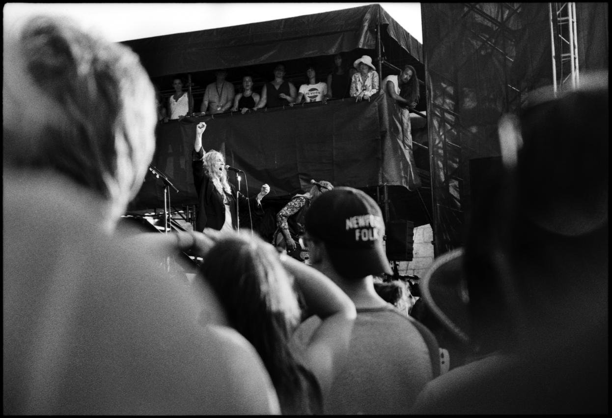 Patti Smith at Newport Folk Fest