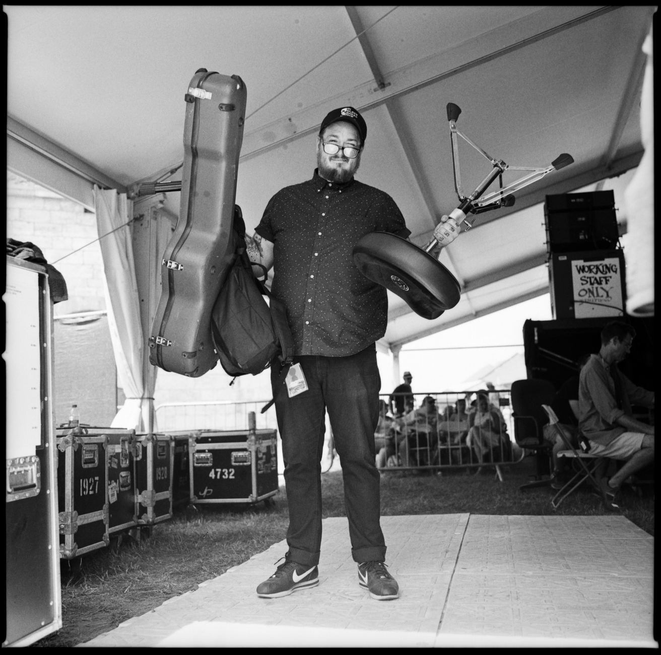 Bobby Dean Orcutt at Newport Folk Fest