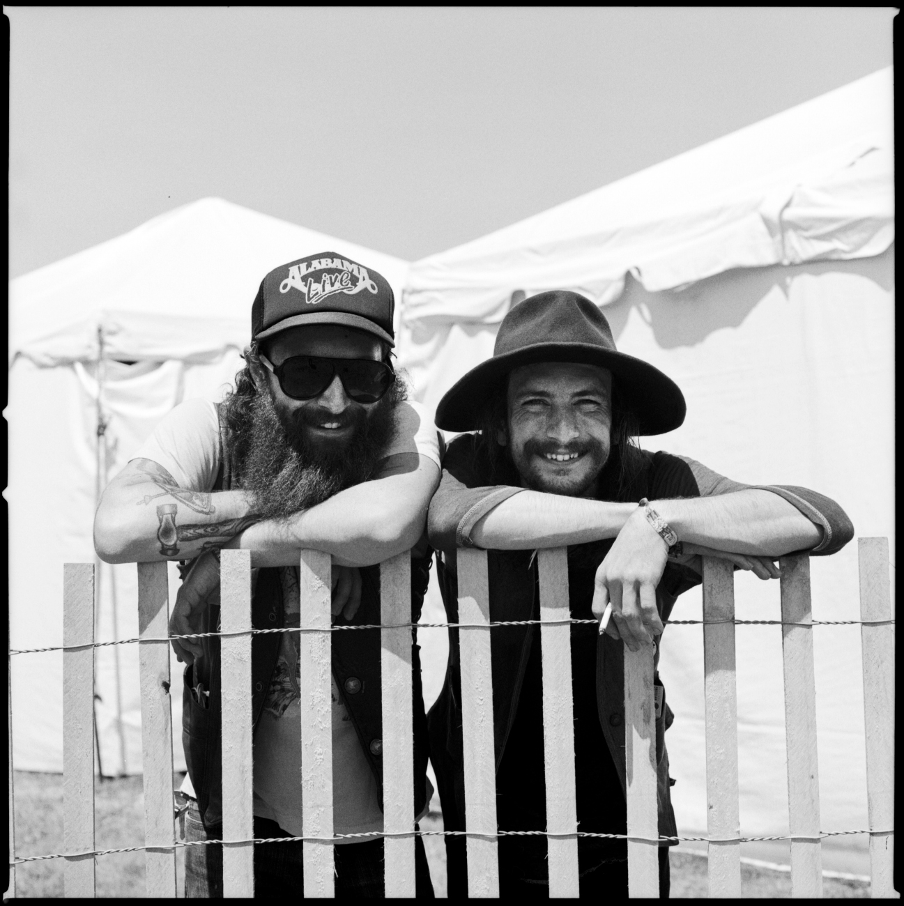 Randy and Steve of Banditos at Newport Folk Fest