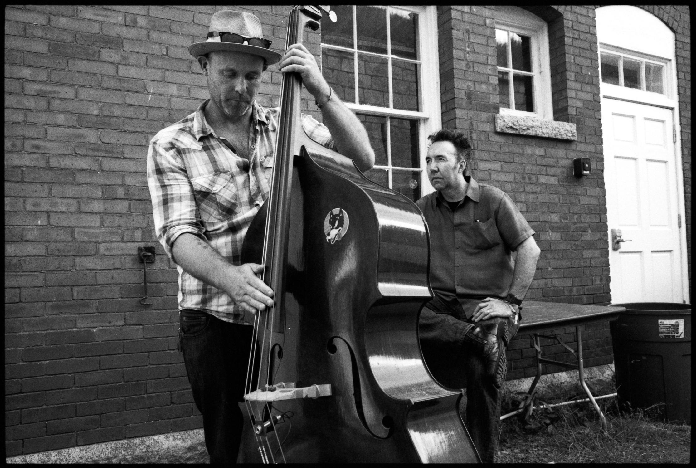 Scott Pittman and Matthew Murphy at Newport Folk Fest