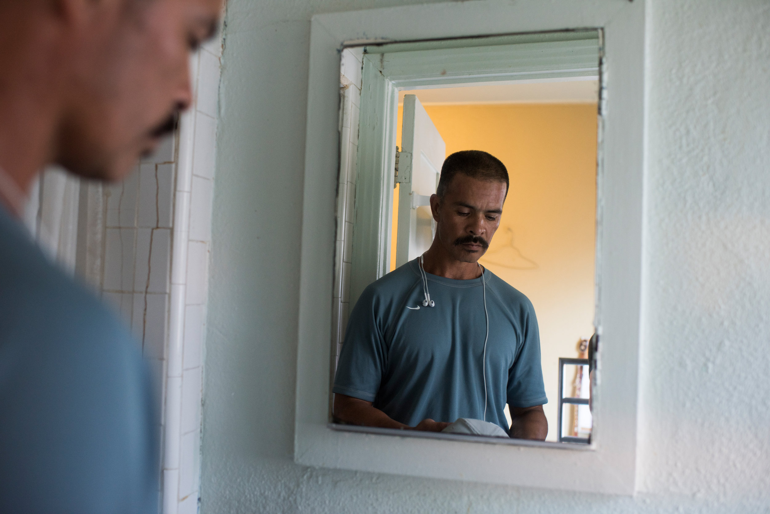"""""""   What It's Really Like When a Prison 'Lifer' Gets a New Shot at Life.   """"     Photos:   Isadora Kosofsky   Role:  Assignment, final sequence, captions."""