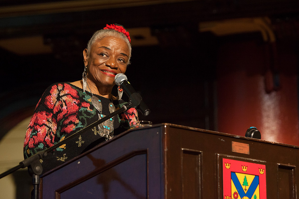 Artist Faith Ringgold by Queen's University [ CC BY-NC-ND 2.0 ]  via Flickr