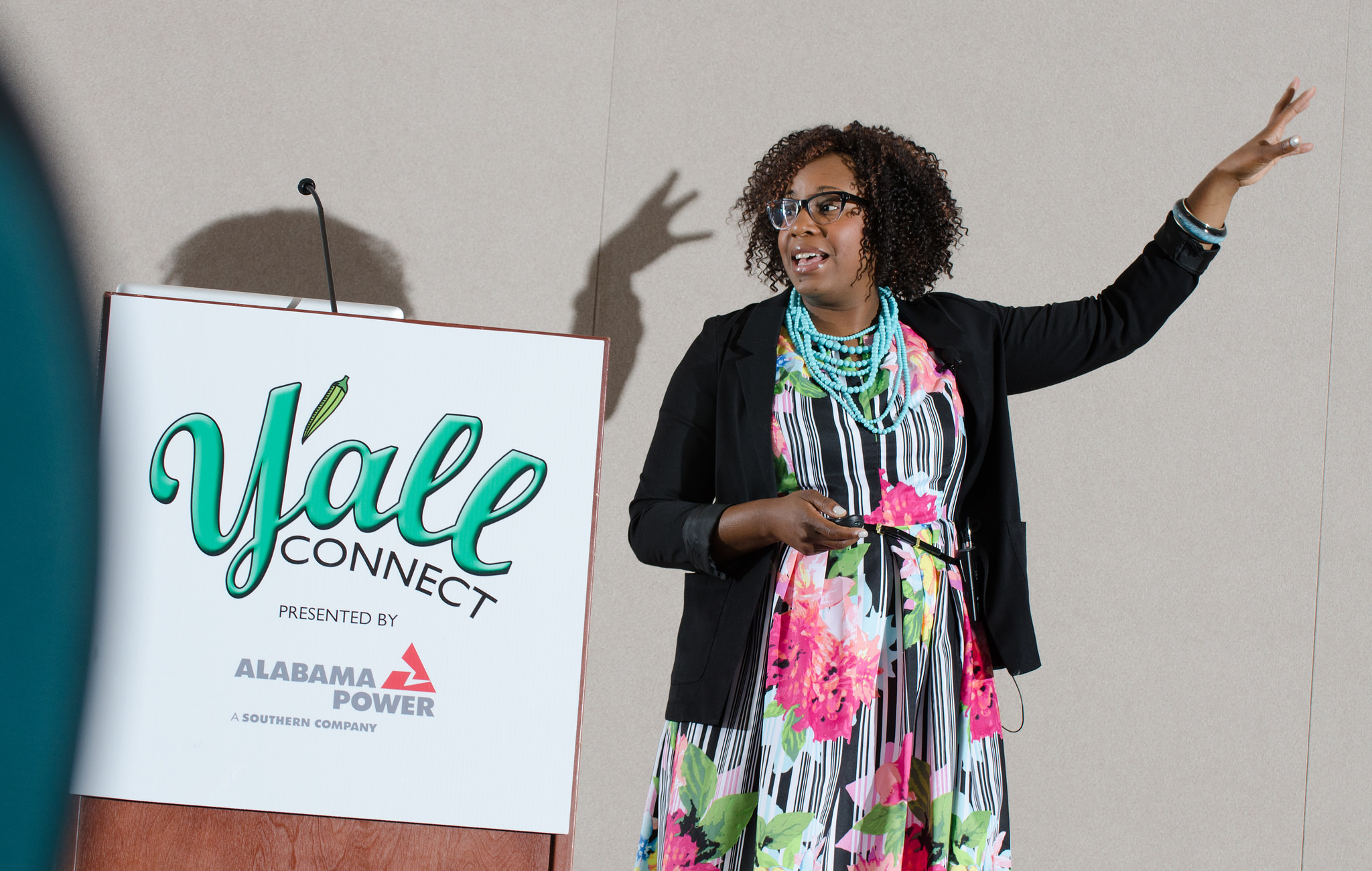 Y'all Connect 2015 keynote speaker Stacey Ferguson