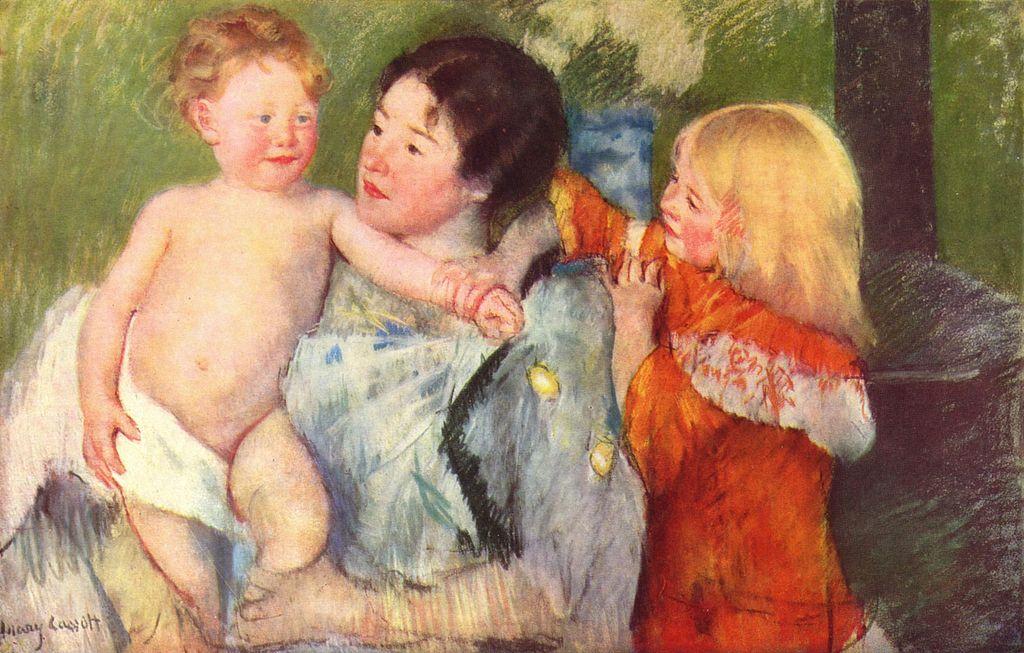 Mary Cassatt [public domain],  via Wikimedia Commons
