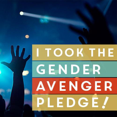 GenderAvenger Pledge