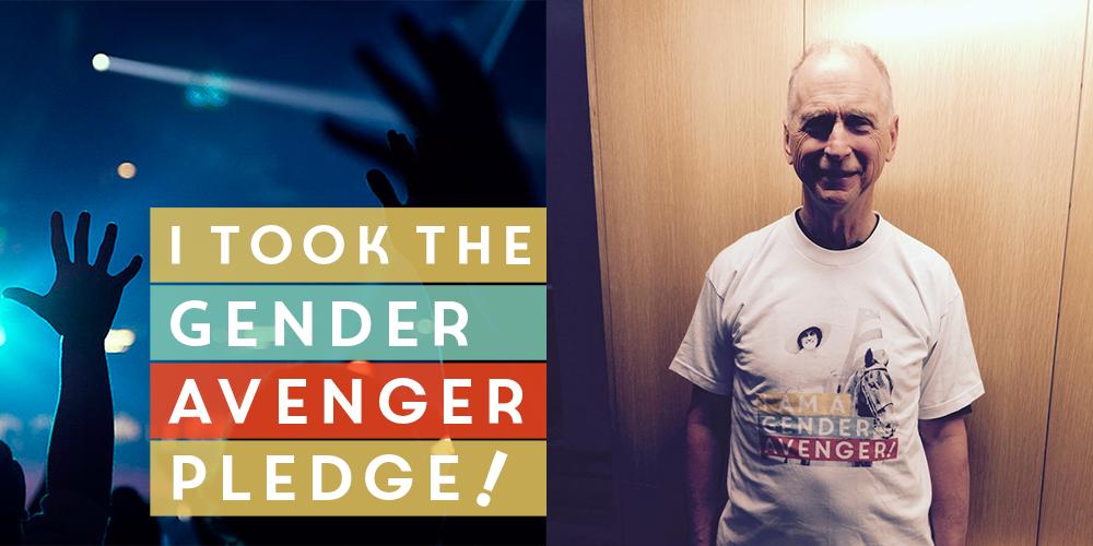 Garrett Boone and the GenderAvenger Pledge