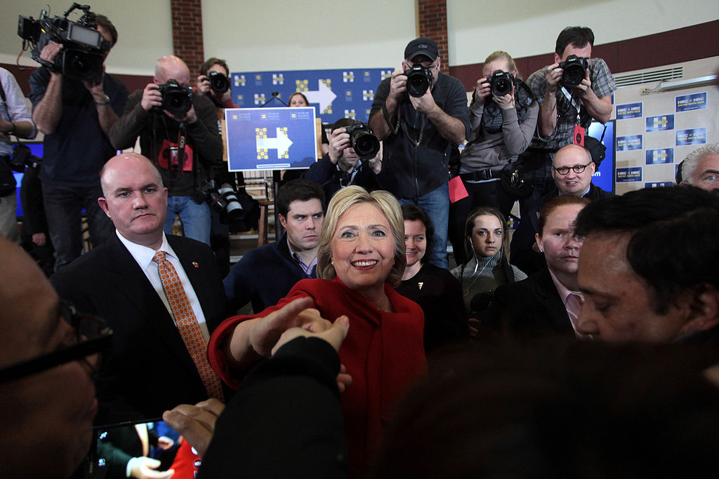 by Gage Skidmore (Hillary Clinton with supporters) [ CC BY-SA 2.0 ],  via Wikimedia Commons