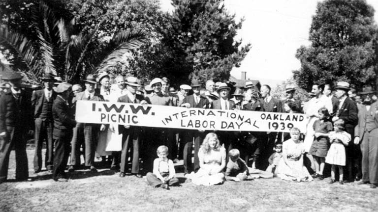 Industrial Workers of the World Labor Day picnic in Oakland, California in 1939