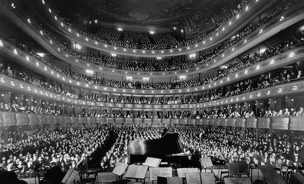 The Metropolitan Opera House on November 28, 1937