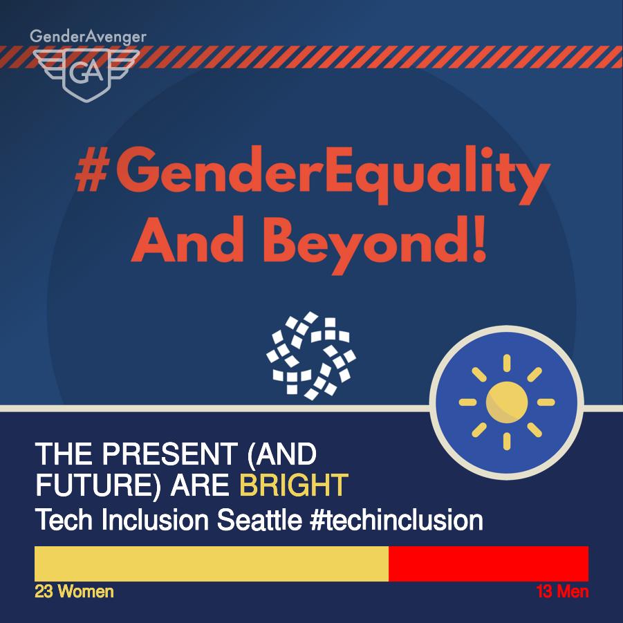 GenderAvenger GA Tally Tech Inclusion Seattle