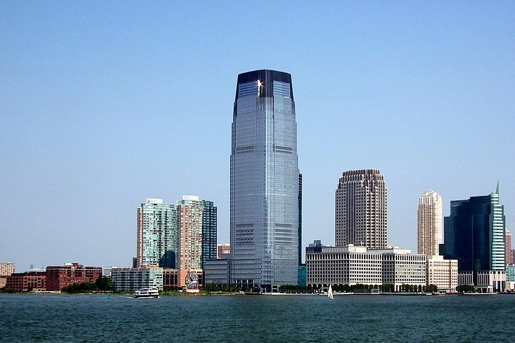 Photo credit: Erik Drost (Goldman Sachs Tower) [ CC BY 2.0 ],  via Wikimedia Commons