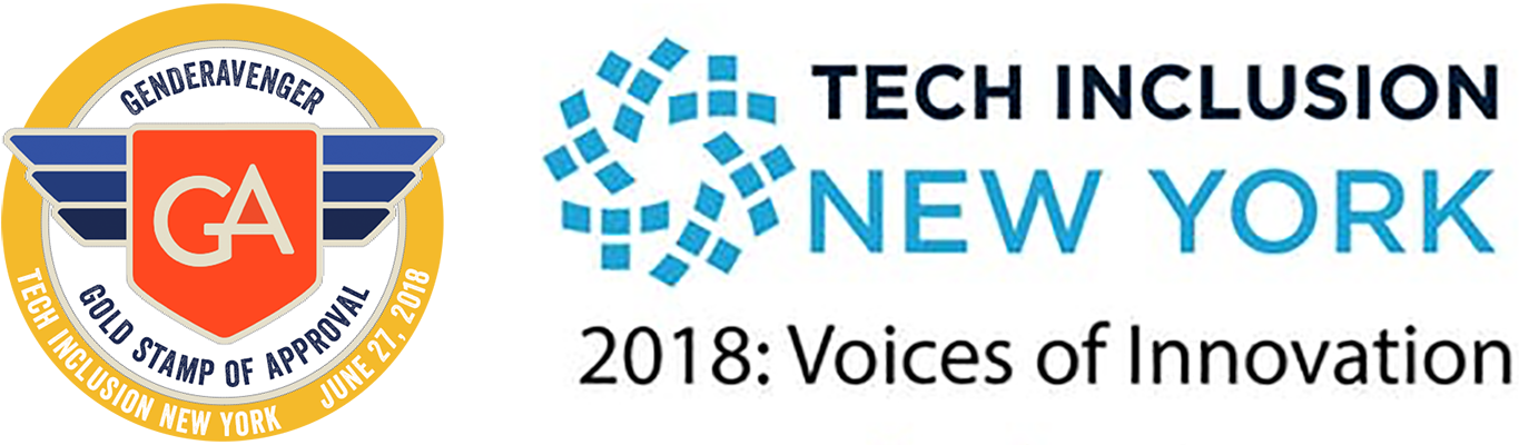 Tech Inclusion New York 2018 GenderAvenger Stamp of Approval