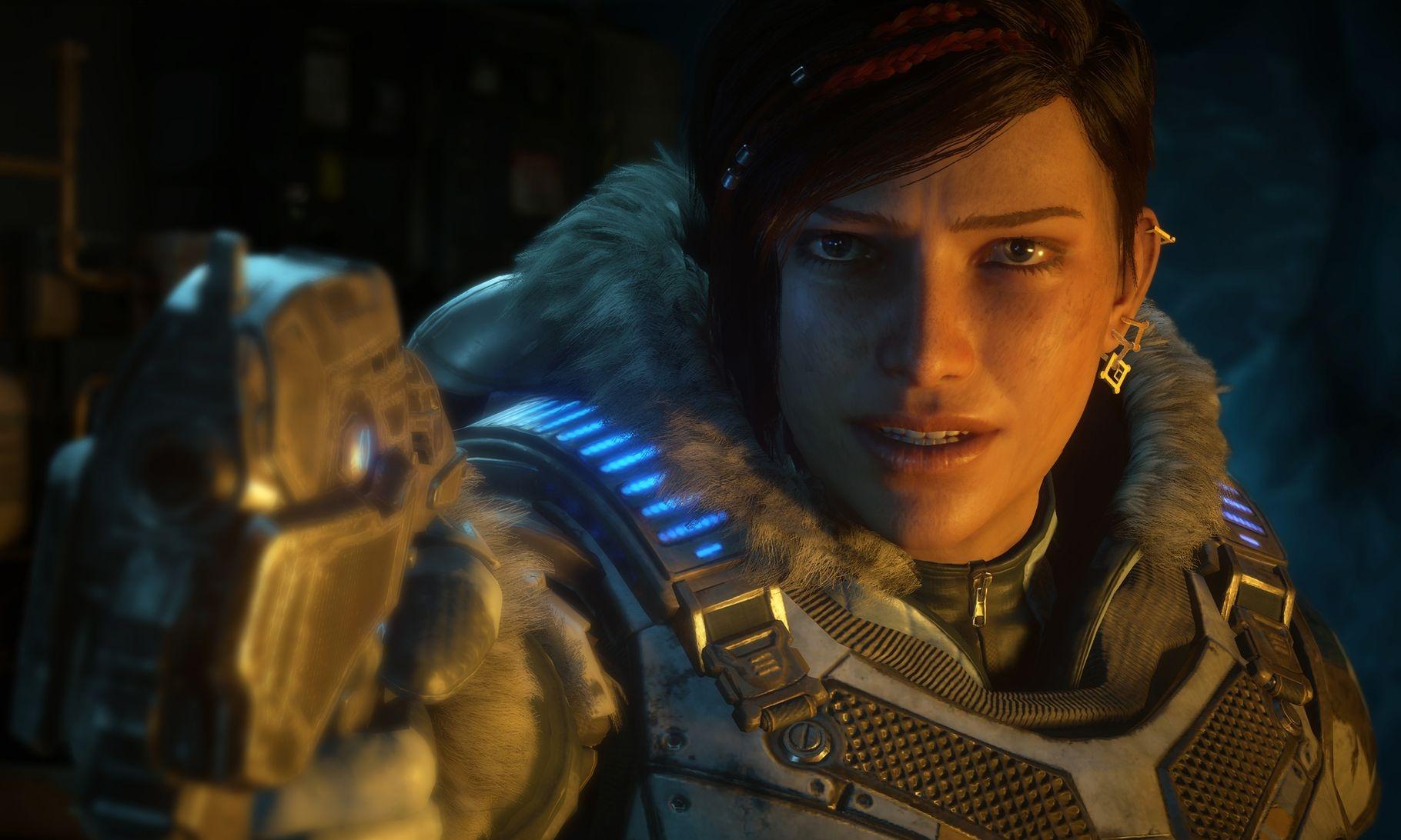Kait Diaz, the protagonist of Gears 5
