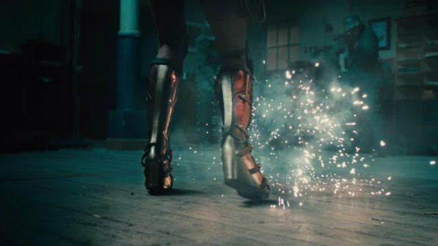 Wonder Woman's boots