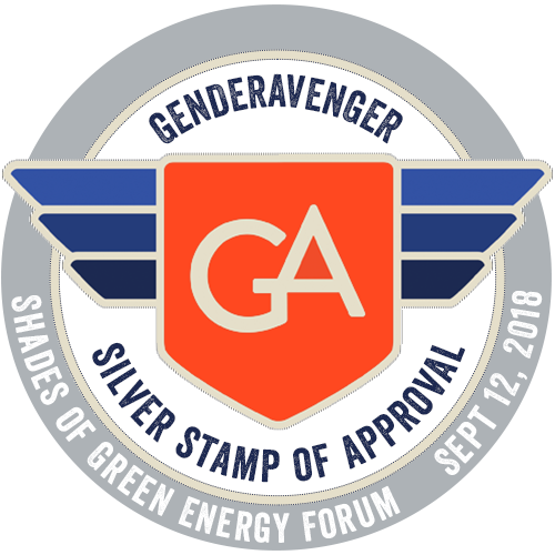 Shades of Green Forum 2018 GA Stamp of Approvalhttps://www.genderavenger.com/blog/shades-of-green-forum-silver-stamp-of-approval
