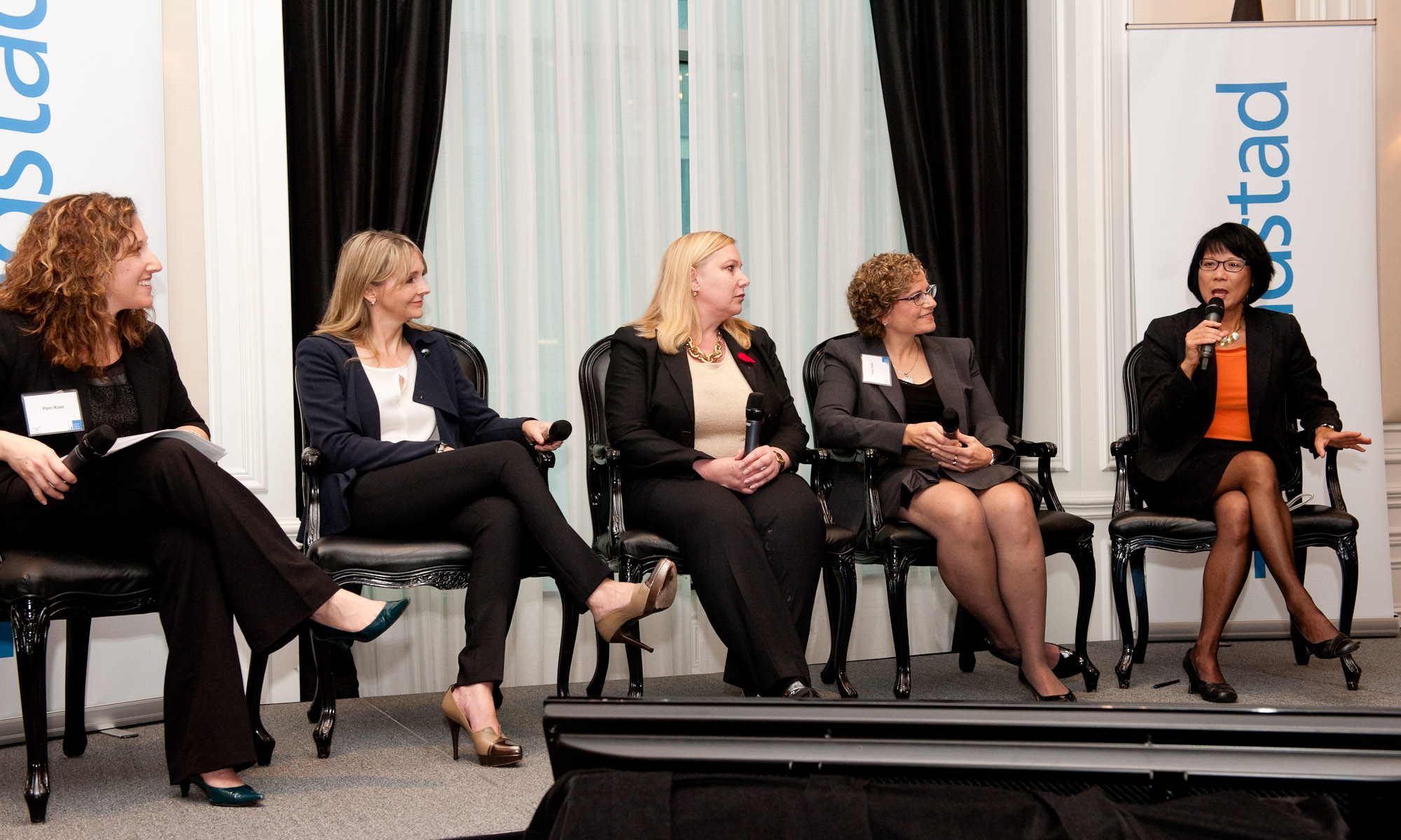 An all-women panel. Photo credit: Randstad Canda [ CC BY 2.0 ],  via Flickr  (cropped)